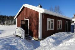 Bastu efter härliga vinteraktiviteter i Höga Kusten