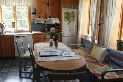 matplatsen i köket i Höga Kusten